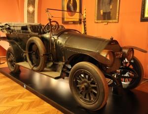 Graf & Stift 28/32PS  № А III – 118, в котором был застрелен Франц Фердинанд