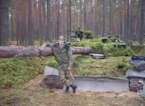 Тихо в лесу