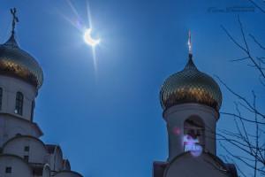 Затмение в Минске