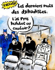 Брюссельские террористы: Ты взял у окна или у прохода?