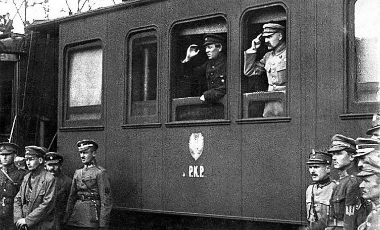 Petlura-Piłsudski_Winnica_1920
