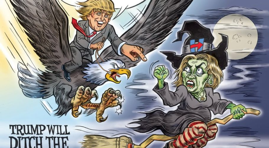 trump_will_ditch_the_witch_by_superguy2036-da4ui1t