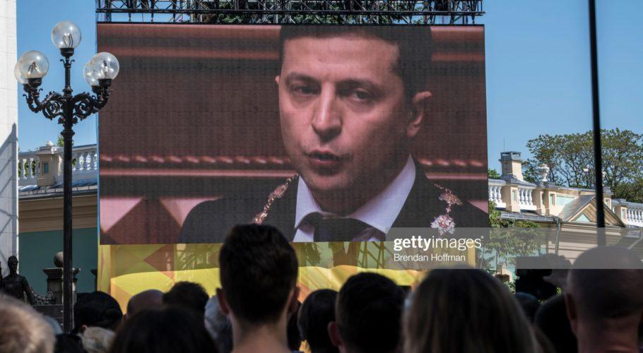 Украина: новая жизнь по законам сериала